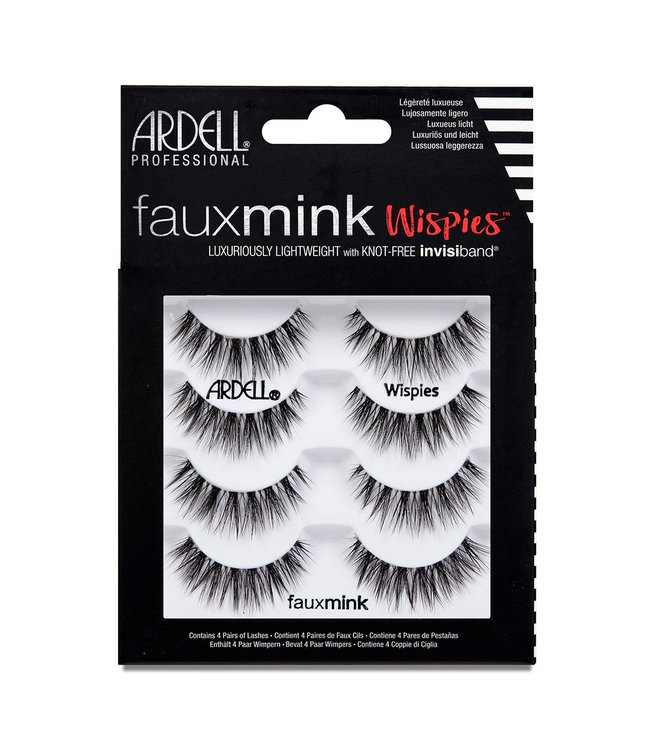 Ardell Ardell - Faux Mink Lashes Wispies Multipack
