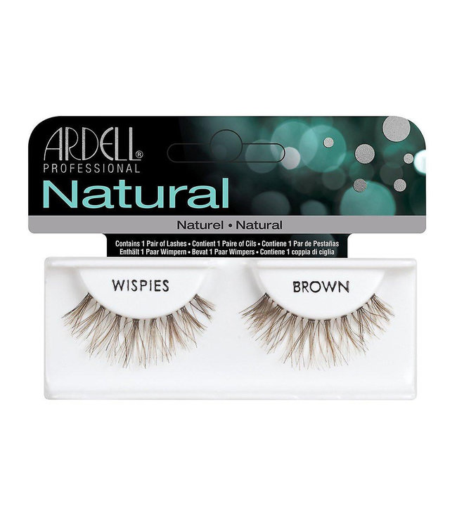 Ardell Ardell - Invisiband Lashes Wispies - Brown