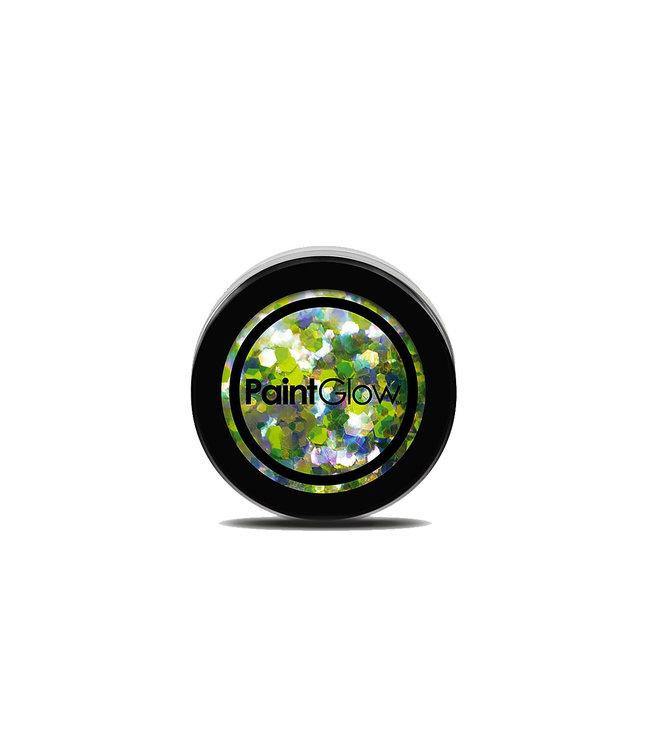PaintGlow PaintGlow - Chunky Holographic UV Glitter Lucky Lepricorn