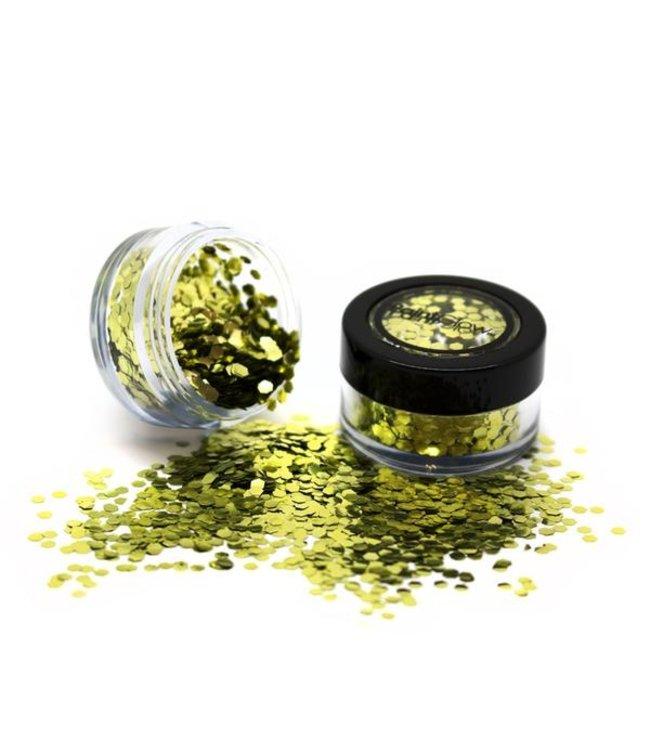 PaintGlow PaintGlow - Bio Degradable Chunky Glitter Gold Dust