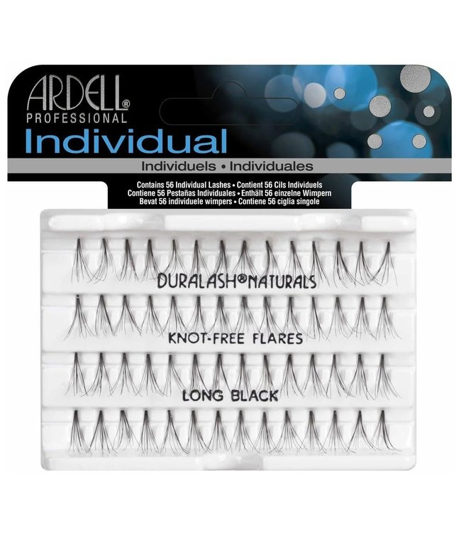 Ardell Ardell - Duralash Naturals Individual Lashes Long - Black