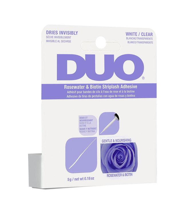 DUO DUO - Rosewater & Biotin Striplash Adhesive Wimperlijm - Clear