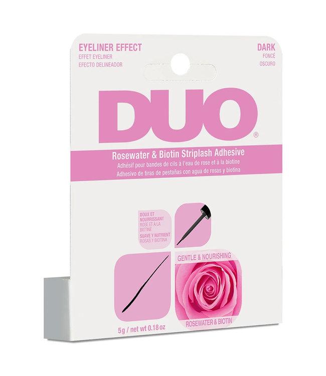 DUO DUO - Rosewater & Biotin Striplash Adhesive Wimperlijm - Dark