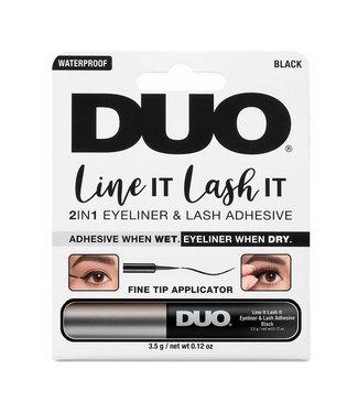 DUO DUO - Line It Lash It 2in1 Eyeliner & Lash Adhesive