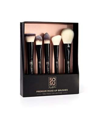 SOSU by Suzanne Jackson SOSU by SJ - The Face Collection Premium 5 Piece Brush Set