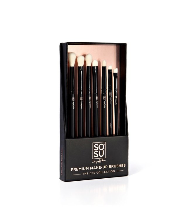SOSU by Suzanne Jackson SOSU by SJ - The Eye Collection Premium 7 Piece Brush Set