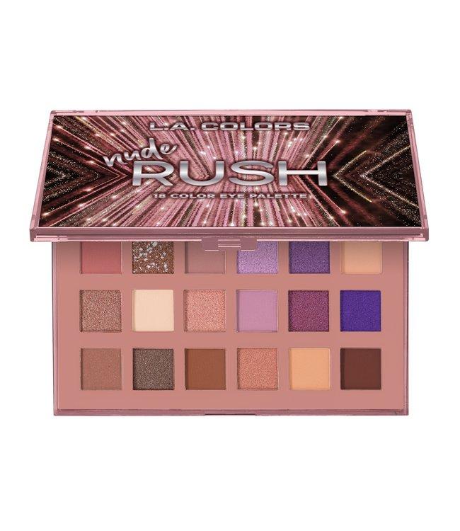 LA Colors LA Colors - Nude 18 Color Eyeshadow Palette Nude Rush