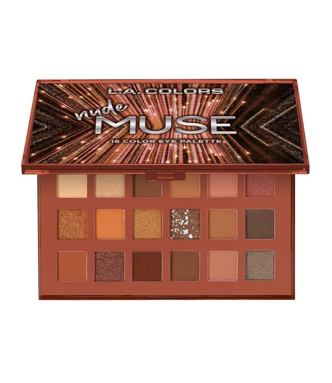LA Colors LA Colors - Nude 18 Color Eyeshadow Palette Nude Muse