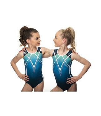 "KV Gymnastics Wear Leotard ""Tess"""