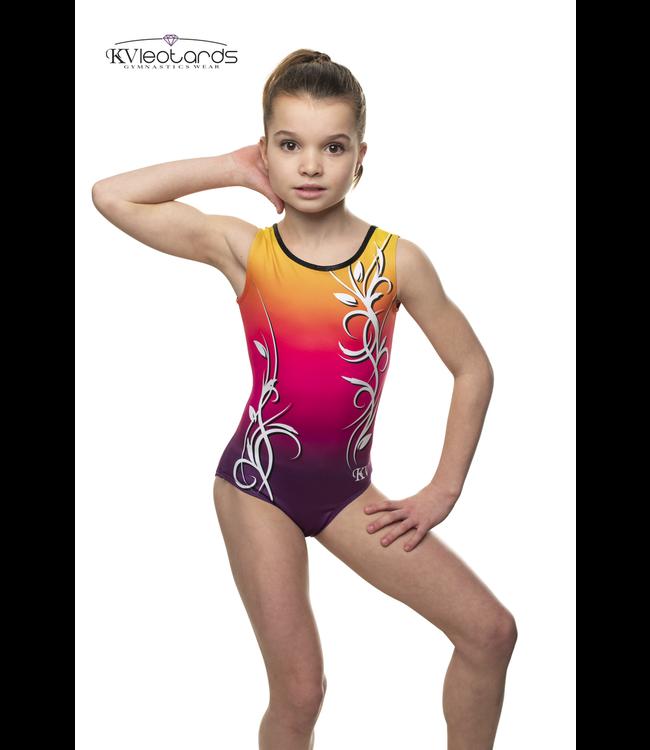 "KV Gymnastics Wear Turnpakje ""Aurora"" Roze"