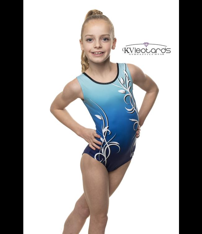 "KV Gymnastics Wear Turnpakje ""Aurora"" Blauw"