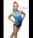 """KV Gymnastics Wear Leotard """"Aurora"""" blue"""
