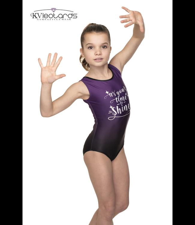 "KV Gymnastics Wear Leotard ""Shine"""