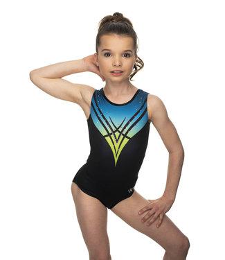 "KV Gymnastics Wear Leotard ""Chloe"" blue"