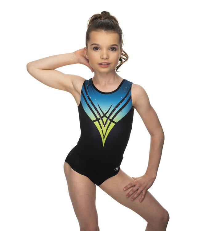 "KV Gymnastics Wear Turnpakje ""Chloe"" Blauw"