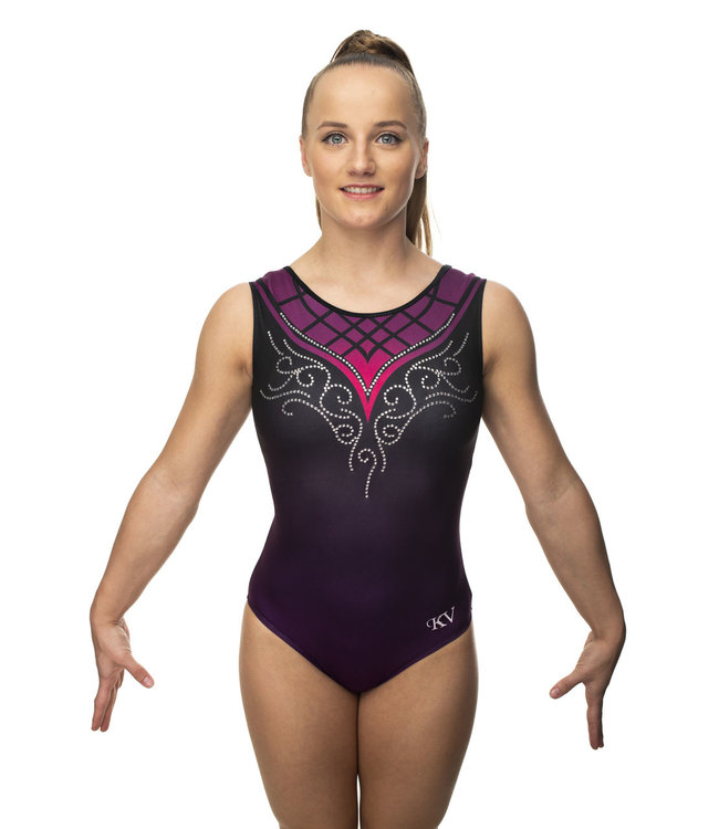 """KV Gymnastics Wear Turnpakje """"Grace"""" Paars"""