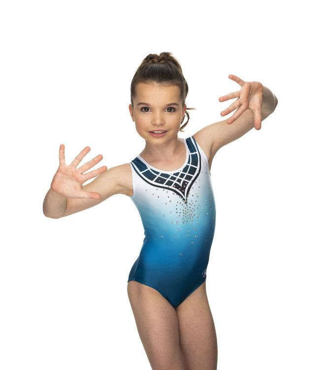 """KV Gymnastics Wear Turnpakje """"Grace"""" Mint - Mouwloos"""