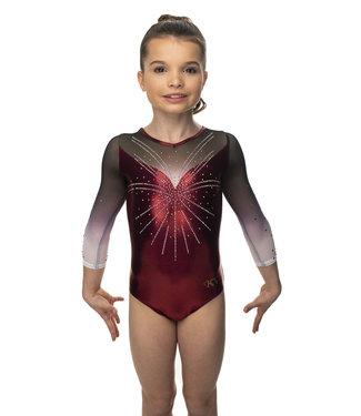"KV Gymnastics Wear Leotard ""Scarlett"""