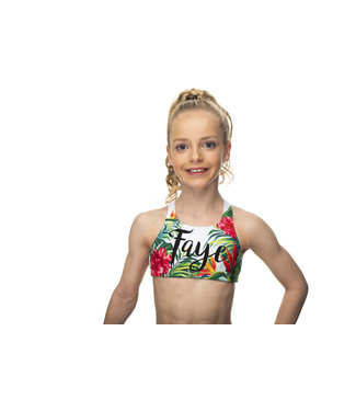 "KV Gymnastics Wear Sporttop ""Tropical"""