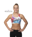 "KV Gymnastics Wear Sporttop ""Aquarel"""