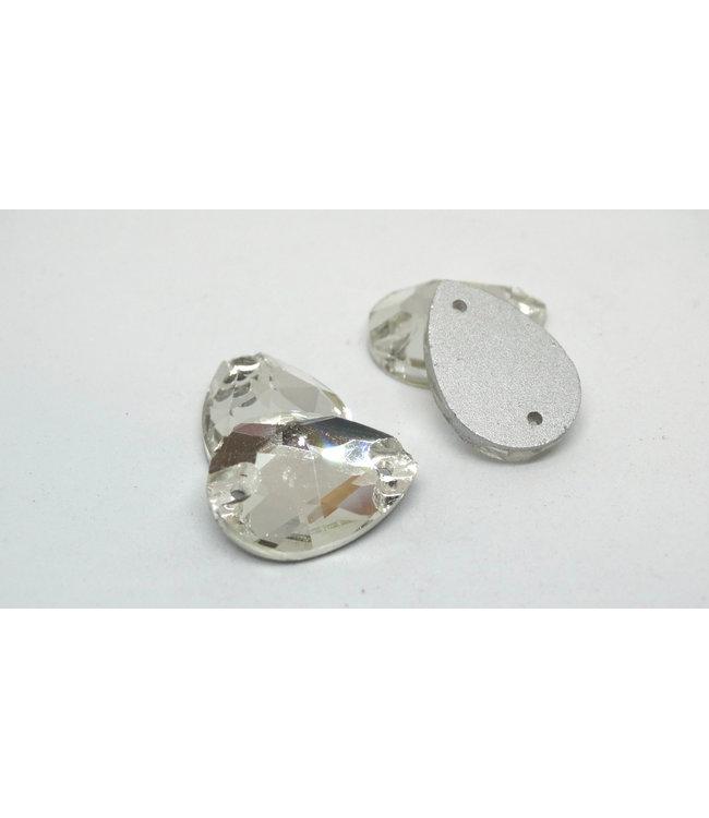 KV Premium Naaistenen Teardrop Crystal
