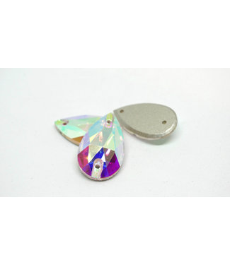 KV Exclusive Naaistenen Teardrop Crystal AB