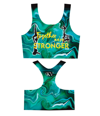 KV Gymnastics Wear Sporttop Together we're Stronger 2020  blue