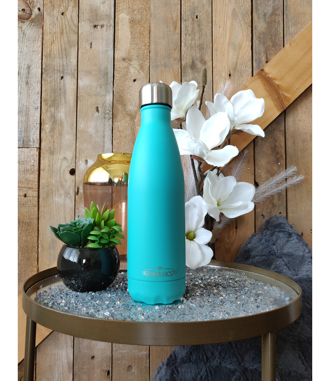 KV Waterbottle Turquoise Blue