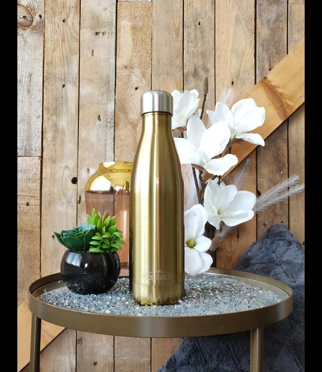 KV Drinkfles Metallic Gold
