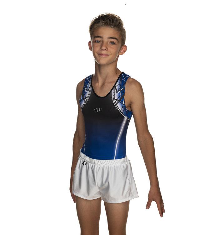 """KV Gymnastics Wear Turnpak """"Jimmy"""" blauw"""