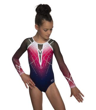 "KV Gymnastics Wear Turnpakje ""Goddess"" roze"