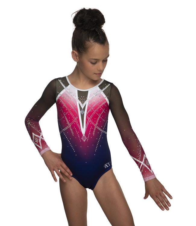 "KV Gymnastics Wear Leotard ""Goddess"""