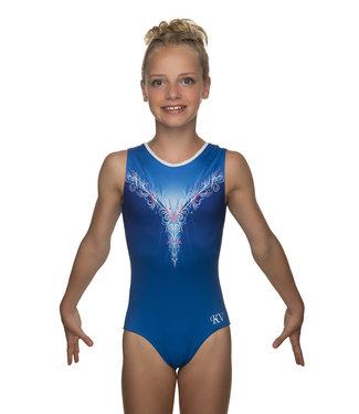 """KV Gymnastics Wear Turnpakje """"Layla"""" blauw"""