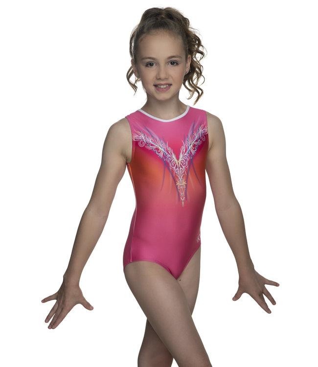 "KV Gymnastics Wear Turnpakje ""Layla"" roze"