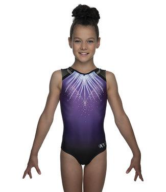 """KV Gymnastics Wear Turnpakje """"Lux"""" paars"""