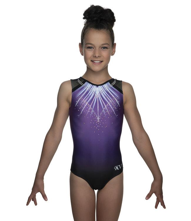 "KV Gymnastics Wear Leotard ""Lux"" purple"