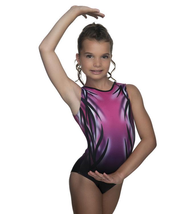 "KV Gymnastics Wear Leotard ""Mystery"" pink"