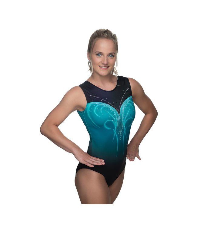 "KV Gymnastics Wear Turnpakje ""Nova"" teal"