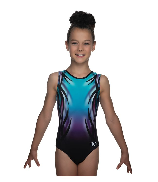 "KV Gymnastics Wear Leotard ""Mystery"" mint"