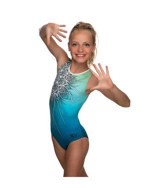 "KV Gymnastics Wear Leotard ""Coco"" green"
