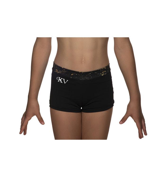 KV Gymnastics Wear Turnbroekje met Marble print