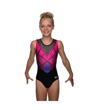 """KV Gymnastics Wear Turnpakje """"Rebel"""" roze"""