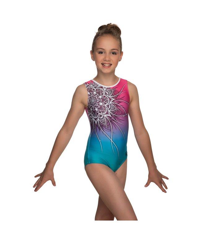 "KV Gymnastics Wear Leotard ""Coco"" unicorn"