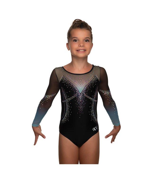 """KV Gymnastics Wear Leotard """"Jewel"""" mint"""