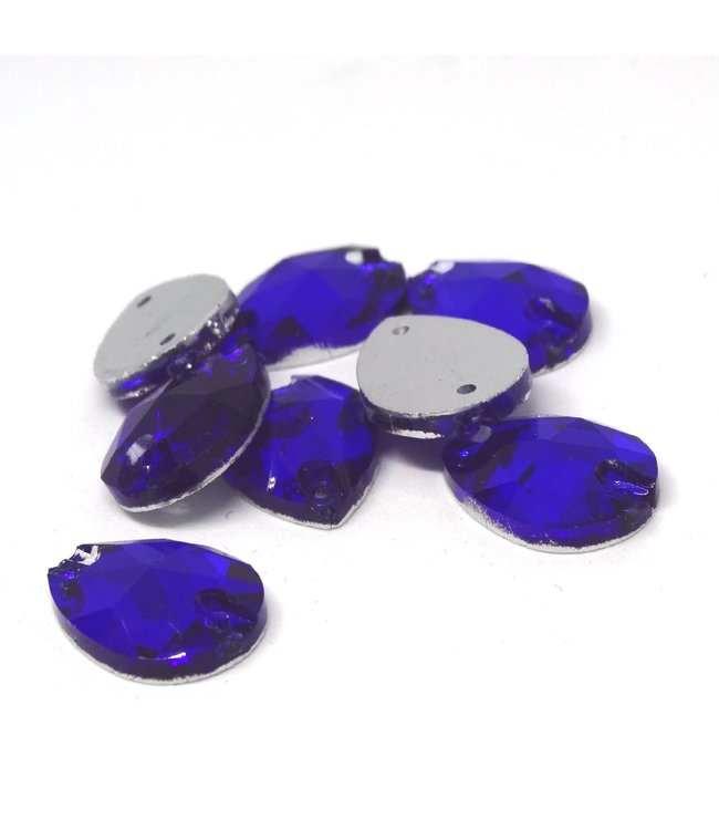 KV Premium Naaistenen Teardrop Sapphire