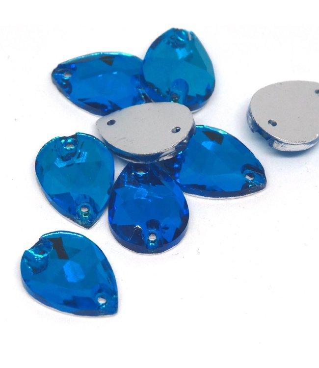 KV Premium Naaistenen Teardrop Capri Blue