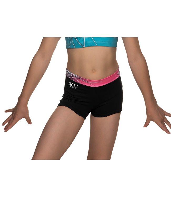"KV Gymnastics Wear Shorts ""Coco"" unicorn"