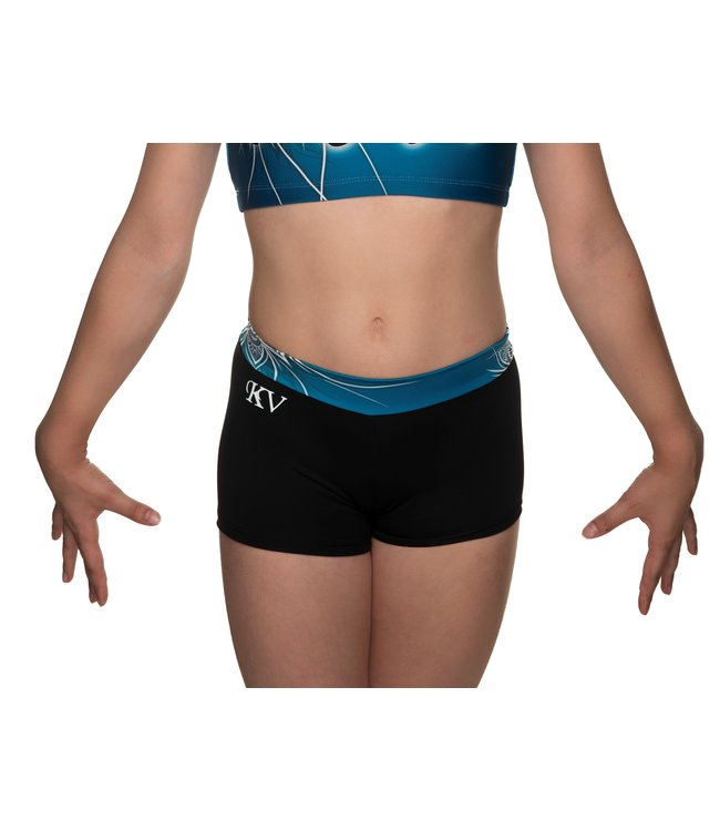 "KV Gymnastics Wear Shorts ""Coco"" green"