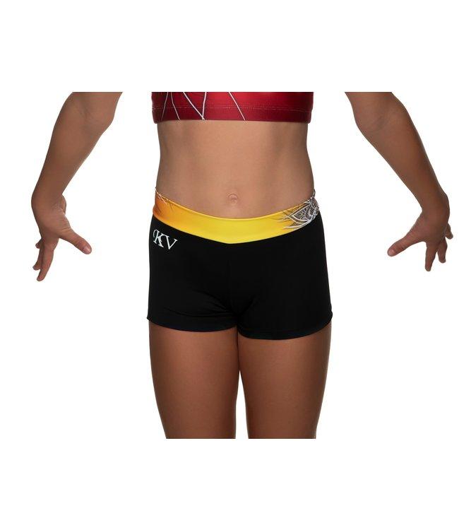 "KV Gymnastics Wear Shorts ""Coco"" sunset"