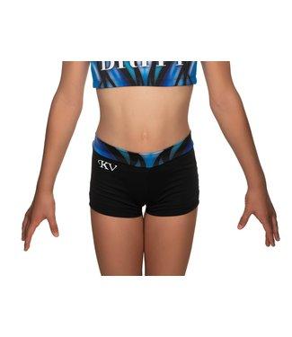 "KV Gymnastics Wear Shorts ""Victory"" blue"